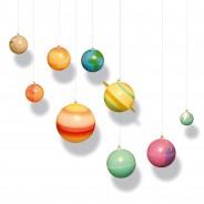 Glowing 3D Solar System 2