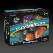 Glowing 3D Solar System 7
