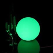 LED Indoor Rechargeable Sphere Lights 5 20cm Sphere