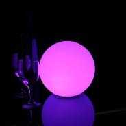 LED Indoor Rechargeable Sphere Lights 7 20cm Sphere