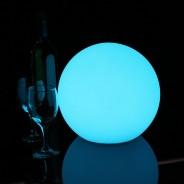 LED Indoor Rechargeable Sphere Lights 8 25cm Sphere