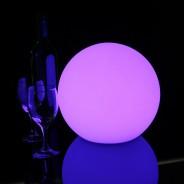 LED Indoor Rechargeable Sphere Lights 9 25cm Sphere