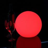 LED Indoor Rechargeable Sphere Lights 10 25cm Sphere