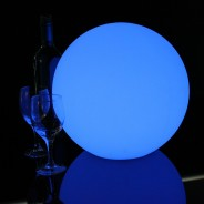 LED Indoor Rechargeable Sphere Lights 11 31cm Sphere