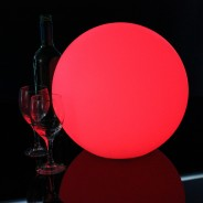 LED Indoor Rechargeable Sphere Lights 13 31cm Sphere