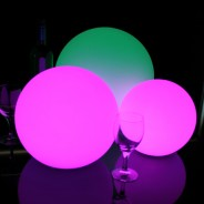 LED Indoor Rechargeable Sphere Lights 2