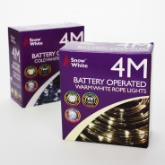40 LED Multi Function Rope Light B/O 7