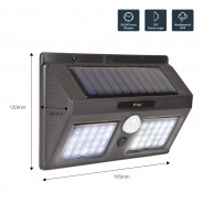 40 LED Solar Security Light with Motion Sensor 4