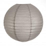 40cm Battery Paper Lanterns 4 Grey