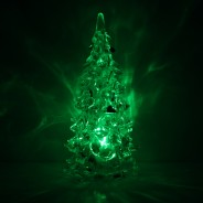 "5"" Clear Crystal Colour Changing Xmas Tree 1"