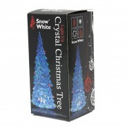 "5"" Clear Crystal Colour Changing Xmas Tree 6"