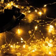 50 LED Solar Romantic Pearl String Lights 1
