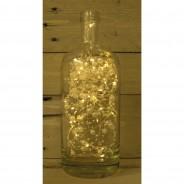 50 LED Solar Romantic Pearl String Lights 3 White