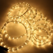 5m LED Rope Light Multi Function 5 Warm White