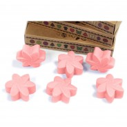 Soy Wax Flower Melts (6 pack) 2 Classic Rose