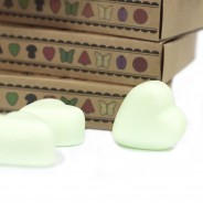 Soy Wax Heart Melts (6 pack) 4 Mint Menthol
