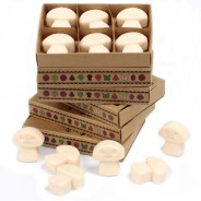 Soy Wax Shroom Melts (6 pack) 7 Vanilla Nutmeg