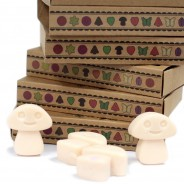 Soy Wax Shroom Melts (6 pack) 8 Vanilla Nutmeg