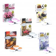 Scented Tealight Candles (6 pack)  1