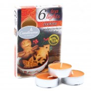 Scented Tealight Candles (6 pack)  6 Cookie