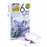 Scented Tealight Candles (6 pack)  3 Lavender