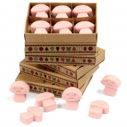 Soy Wax Shroom Melts (6 pack) 14 Coffee