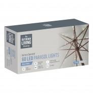 60 LED Parasol Lights B/O 2