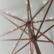 60 LED Parasol Lights B/O 1
