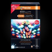 600 Outdoor Timer Lights - Multcolour Battery Operated  2