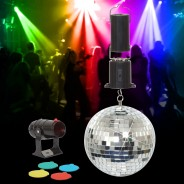 "6"" Mirror Ball Set 1"