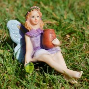 6 Piece Fairy Accessory Pack (6089) 8 Sitting fairy