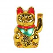 """8"""" Lucky Gold Money Cat 1"""
