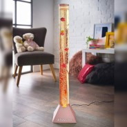90cm Fish Bubble Lamp in Rose Gold 1