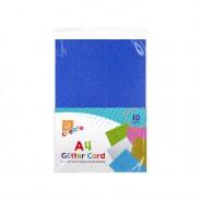 A4 Glitter Card (10 pack) 1