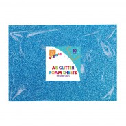 A5 Glitter Foam Sheets (10 pack) 2 2 x blue faom sheets