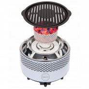 BCO Alfresco Smokeless Charcoal BBQ Grill 4