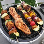 BCO Alfresco Smokeless Charcoal BBQ Grill 2