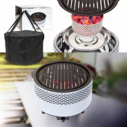 BCO Alfresco Smokeless Charcoal BBQ Grill 7