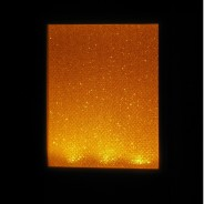 Amber Sparkle LED Sensor Night Light 2