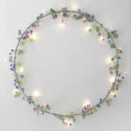 Aqua Crystal Chic Battery Operated Fairy Lights 5