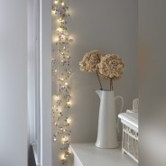 Aqua Crystal Chic Battery Operated Fairy Lights 4