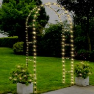 Garden Arch 2 Fairy lights not included