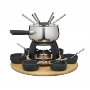 Deluxe 6 Person Fondue Set by Artesa 2