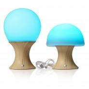 Auraglow Colour Changing Mushroom Lamp 7
