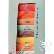Auroshika Mini Incense 14 Fragrance Pack 3