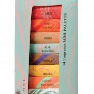 Auroshika Mini Incense 14 Fragrance Pack 2
