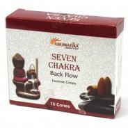 Backflow Incense Cones 3 Seven Chakra