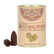 Backflow Incense Cones 4 Sandalwood