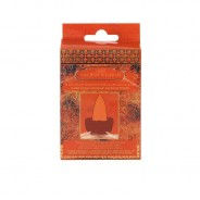 Buddha Backflow Incense Cones  4 Sacred Wisdom - Amber