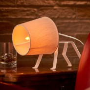 The Bailey Dog Frame Table Lamp 3